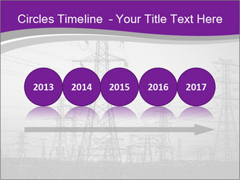 Electricity Lines PowerPoint Templates - Slide 29