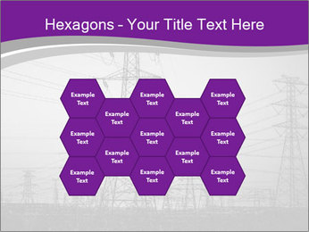 Electricity Lines PowerPoint Templates - Slide 44