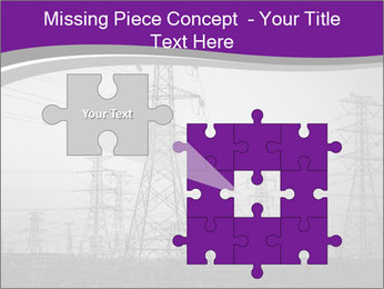 Electricity Lines PowerPoint Templates - Slide 45