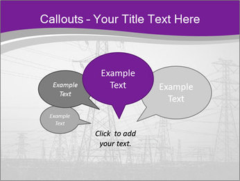 Electricity Lines PowerPoint Templates - Slide 73