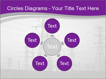 Electricity Lines PowerPoint Templates - Slide 78