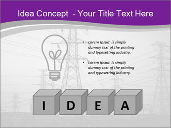 Electricity Lines PowerPoint Templates - Slide 80