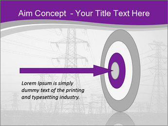 Electricity Lines PowerPoint Templates - Slide 83