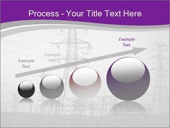 Electricity Lines PowerPoint Templates - Slide 87