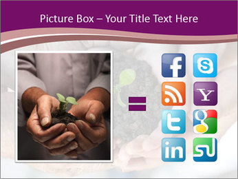 Farmers family hands PowerPoint Template - Slide 21
