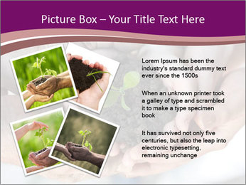 Farmers family hands PowerPoint Template - Slide 23