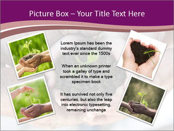 Farmers family hands PowerPoint Template - Slide 24