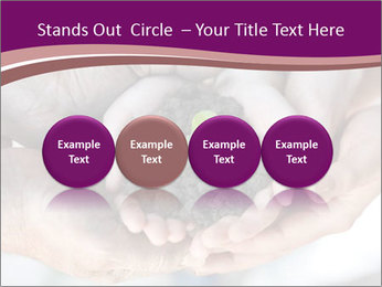Farmers family hands PowerPoint Template - Slide 76