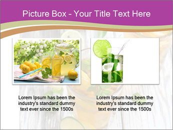 Glass of ice tea with ice-cubes PowerPoint Templates - Slide 18
