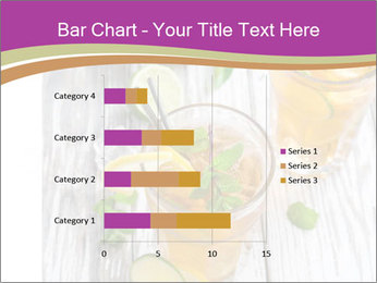 Glass of ice tea with ice-cubes PowerPoint Templates - Slide 52
