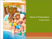 Big family relaxed PowerPoint Templates