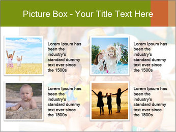 Big family relaxed PowerPoint Template - Slide 14