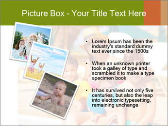 Big family relaxed PowerPoint Template - Slide 17