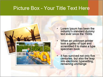 Big family relaxed PowerPoint Template - Slide 20