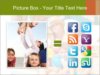 Big family relaxed PowerPoint Template - Slide 21