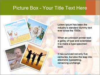 Big family relaxed PowerPoint Template - Slide 23