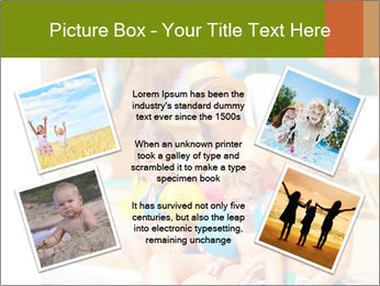Big family relaxed PowerPoint Template - Slide 24