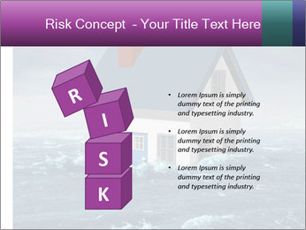 House flood insurance concept PowerPoint Template - Slide 81