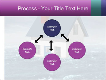 House flood insurance concept PowerPoint Template - Slide 91