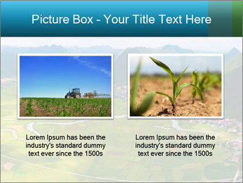 Rice field in valley PowerPoint Template - Slide 18