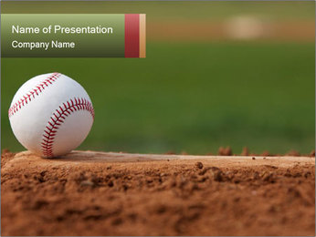 Baseball PowerPoint Templates - Slide 1