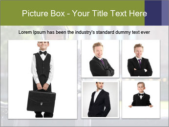 Portrait of American Businessman PowerPoint Template - Slide 19