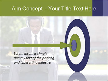 Portrait of American Businessman PowerPoint Template - Slide 83