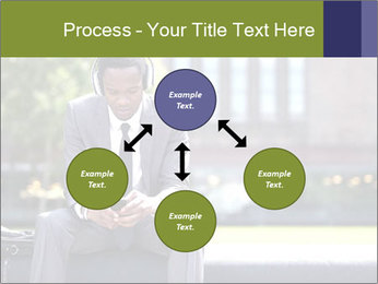 Portrait of American Businessman PowerPoint Template - Slide 91
