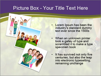 Low section of little boy and girl relaxing PowerPoint Templates - Slide 17