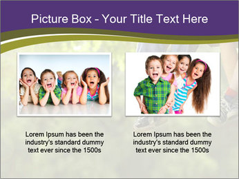 Low section of little boy and girl relaxing PowerPoint Templates - Slide 18