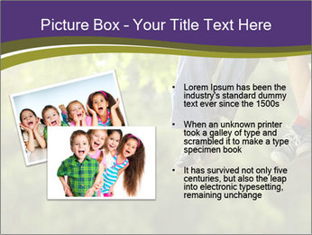 Low section of little boy and girl relaxing PowerPoint Templates - Slide 20