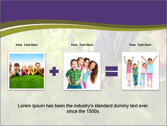 Low section of little boy and girl relaxing PowerPoint Templates - Slide 22