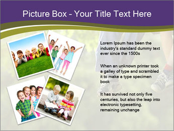 Low section of little boy and girl relaxing PowerPoint Templates - Slide 23