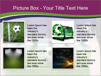 Abstract technology background PowerPoint Template - Slide 14