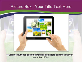 Abstract technology background PowerPoint Template - Slide 16