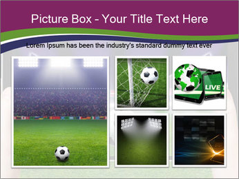 Abstract technology background PowerPoint Template - Slide 19