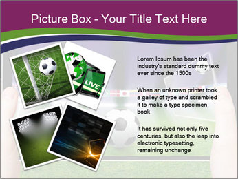 Abstract technology background PowerPoint Template - Slide 23