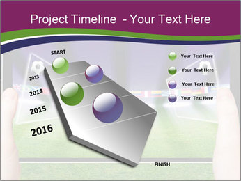 Abstract technology background PowerPoint Template - Slide 26