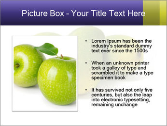 Beautiful and appetizing of green-yellow mangoes PowerPoint Templates - Slide 13