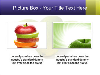 Beautiful and appetizing of green-yellow mangoes PowerPoint Templates - Slide 18