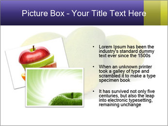 Beautiful and appetizing of green-yellow mangoes PowerPoint Templates - Slide 20