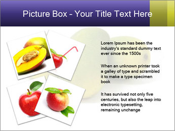 Beautiful and appetizing of green-yellow mangoes PowerPoint Templates - Slide 23