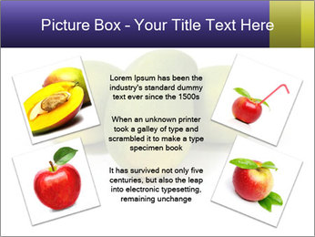 Beautiful and appetizing of green-yellow mangoes PowerPoint Templates - Slide 24
