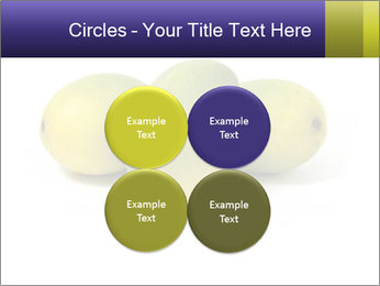 Beautiful and appetizing of green-yellow mangoes PowerPoint Templates - Slide 38