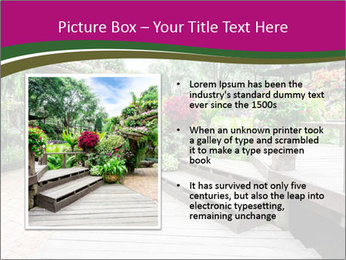 Garden flowers PowerPoint Templates - Slide 13