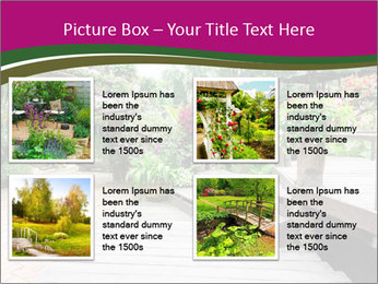 Garden flowers PowerPoint Templates - Slide 14