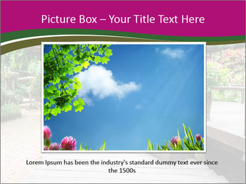Garden flowers PowerPoint Templates - Slide 15