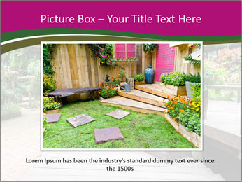 Garden flowers PowerPoint Templates - Slide 16