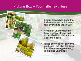Garden flowers PowerPoint Templates - Slide 17