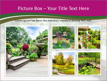 Garden flowers PowerPoint Templates - Slide 19